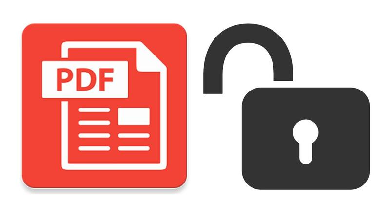 how to unlock secure pdf