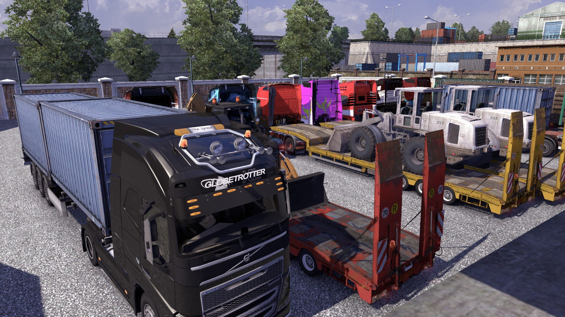 multiplayer mod ets2 volvo ters